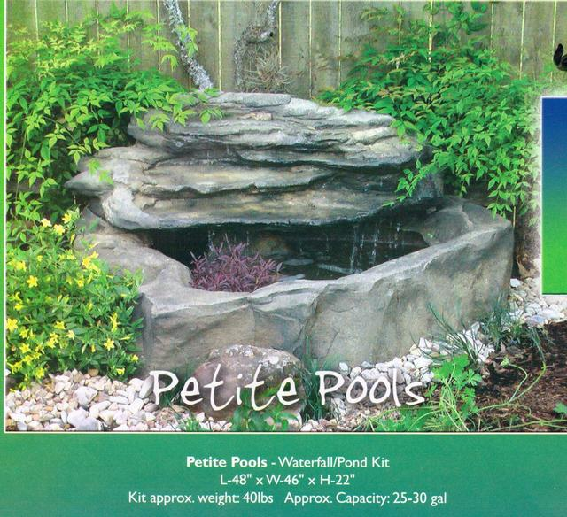 301 moved permanently waterfall kits for ponds for Small pond kits